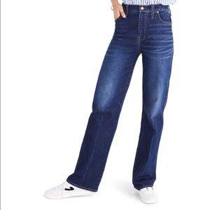 Madewell high rise straight leg jean NWOT